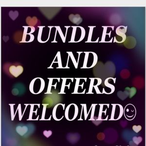 BUNDLES AND OFFERS WELCOME!!
